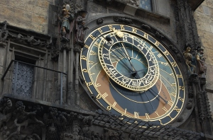 astronomical clock on old town square